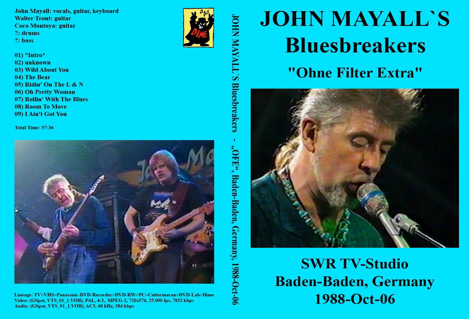 John Mayall & The Bluesbreakers* John Mayall's Bluesbreakers - The Diary Of A Band, Volume One